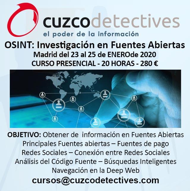 Curso de Investigación OSINT