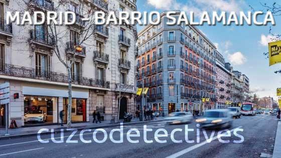 Detectives en el Barrio de Salamanca