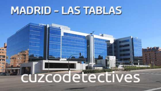Detectives en Madrid Las Tablas