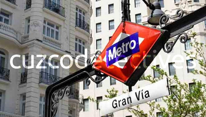 Detectives en Madrid Gran Via