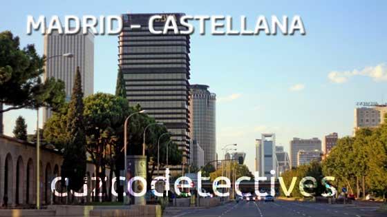 Detectives Privados en Paseo de la Castellana