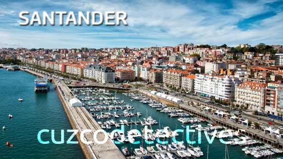 Huellas dactilares en Santander