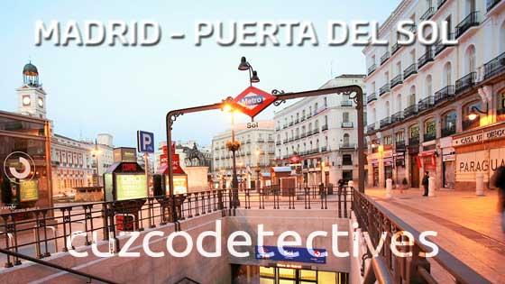 Detectives Privados en Puerta del Sol